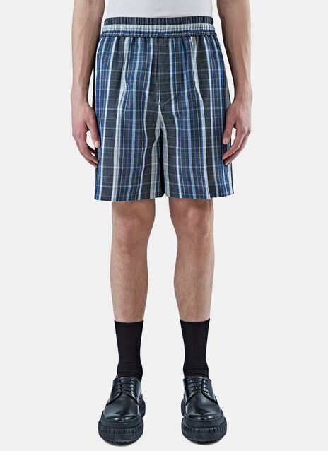 Rye Checked Shorts