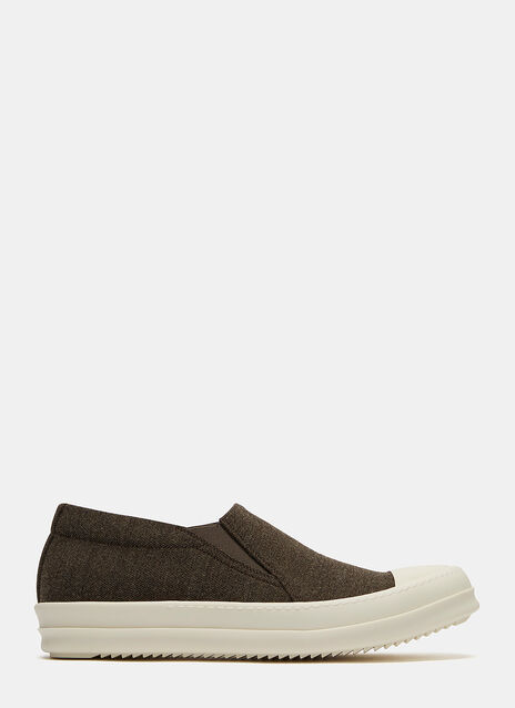Boat Canvas Slip-On Sneakers