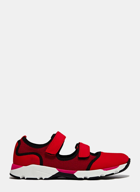 Marni Scarpa Sneaker In Red