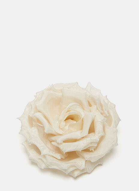 Silk Rose Brooch