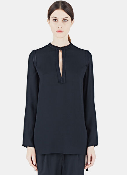 Lanvin Long Sleeved Tunic Top