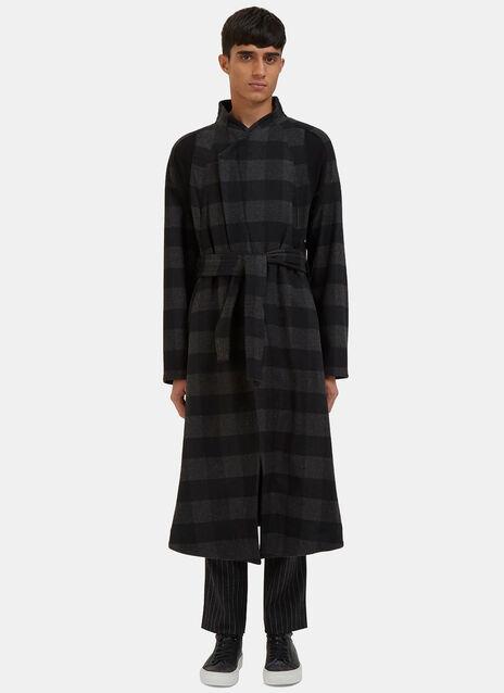 Arc Orison Checked Coat