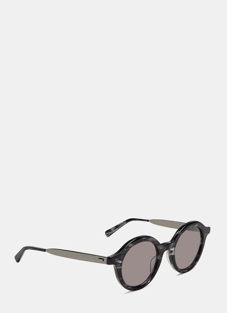 Echo Metal Round Sunglasses