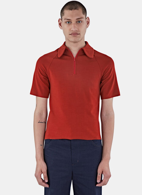 Abdre Zipped Polo Shirt