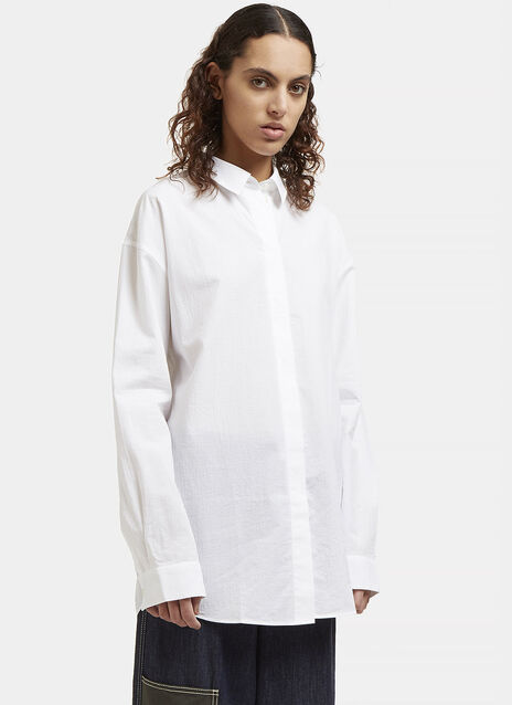 Acne Bela Mini Rip Shirt