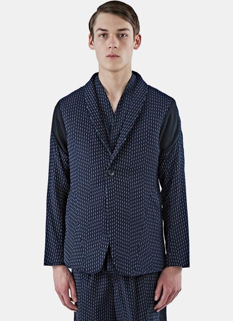Arc Striped Blazer Jacket