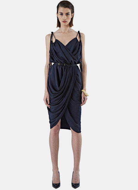 Ruched Rope Dress