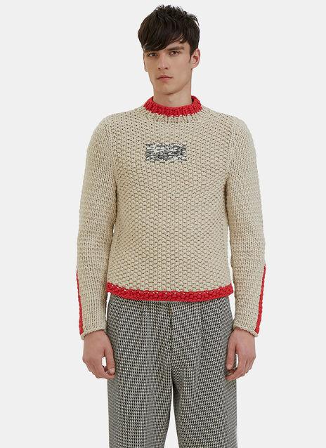 Oversized Chunky Knit Sweater