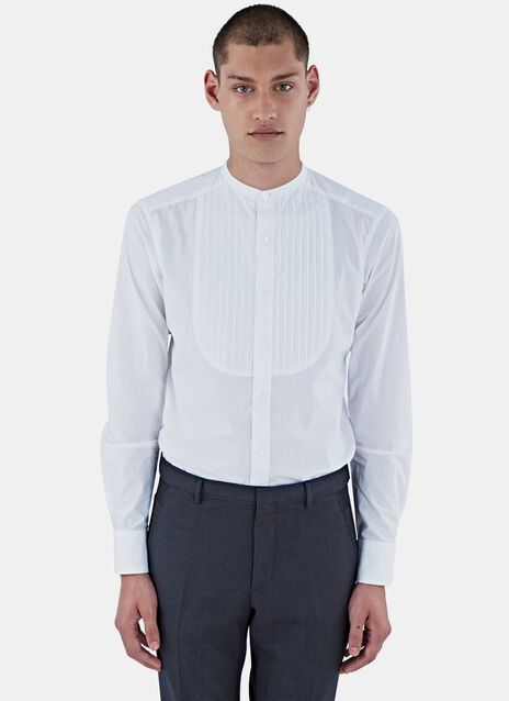 Pintuck Pleated Shirt