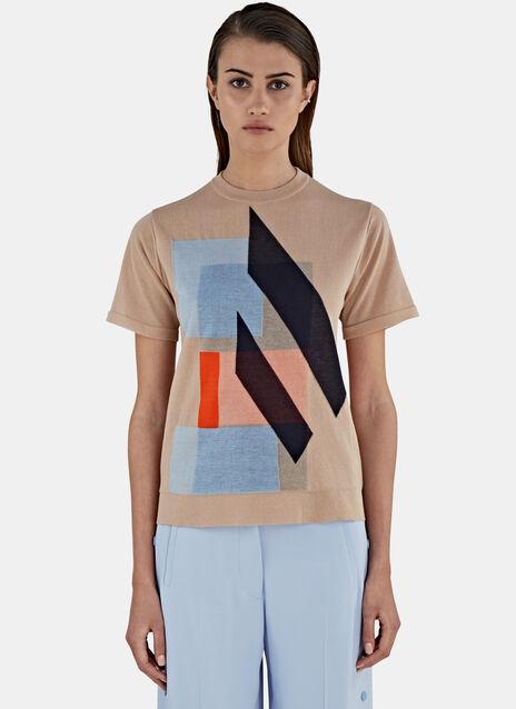 Basil Nougat Print T-Shirt