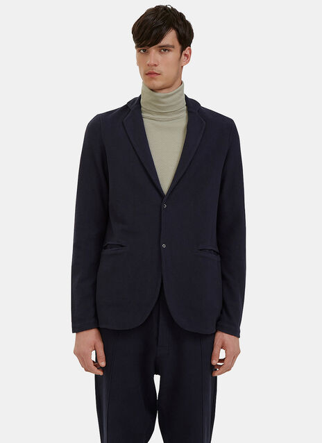 Loopback Fleeced Blazer Jacket