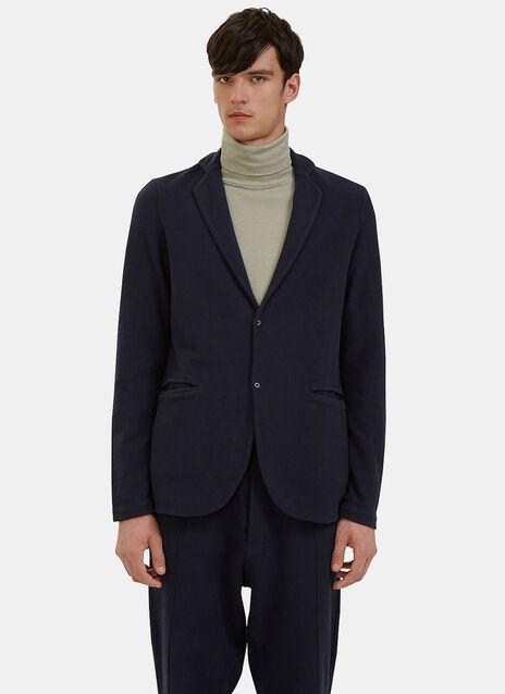Loopback Fleeced Blazer Jacket