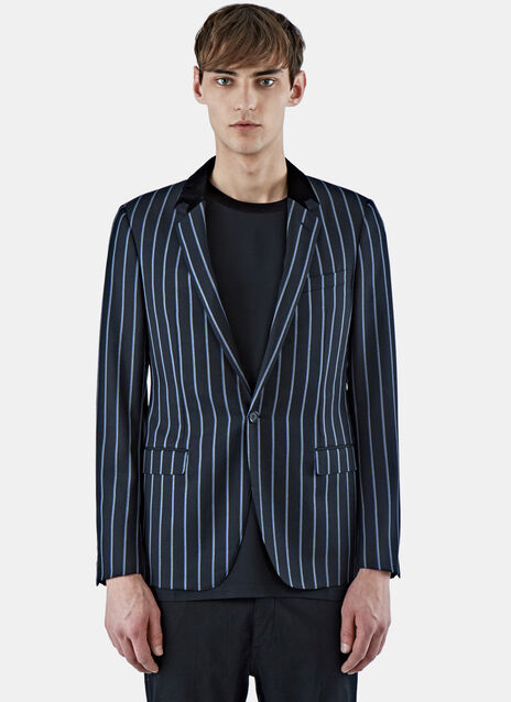 D8 Slimfit Jacket With Contrast Collar