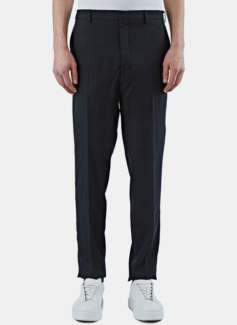 Slim Fluid Twill Pants