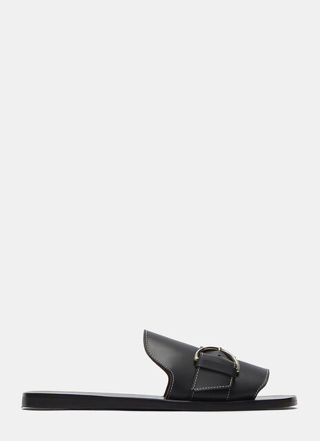 Acne Virgie Flat Slip On Sandal