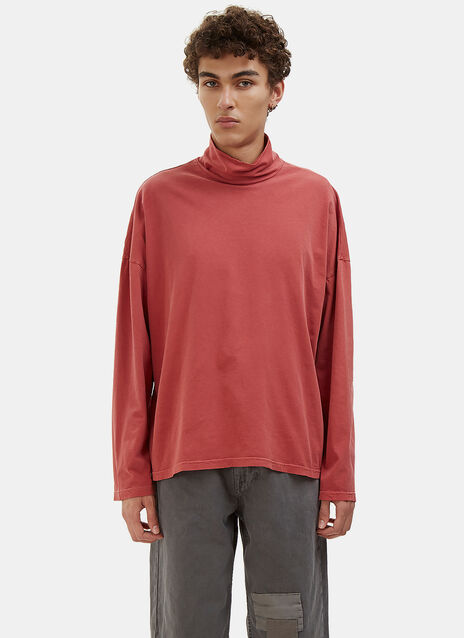 Roll Neck Jersey Sweater