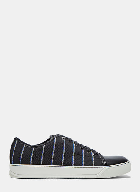 Low Striped Basket Sneaker