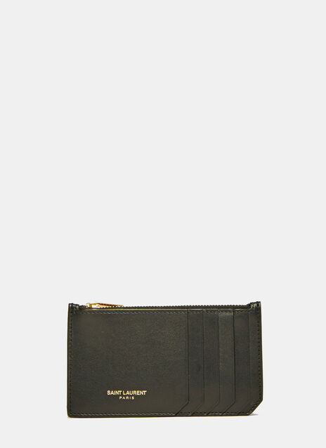 Paris 5 Fragments Zipped Wallet