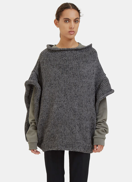 Oversized Hand-Knitted Sweater