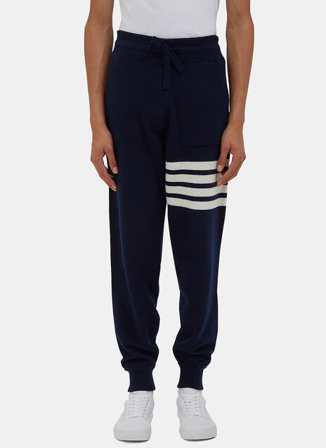 4 Bar Cashmere Track Pants