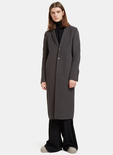 Moreau Single-Breasted Cashmere Coat
