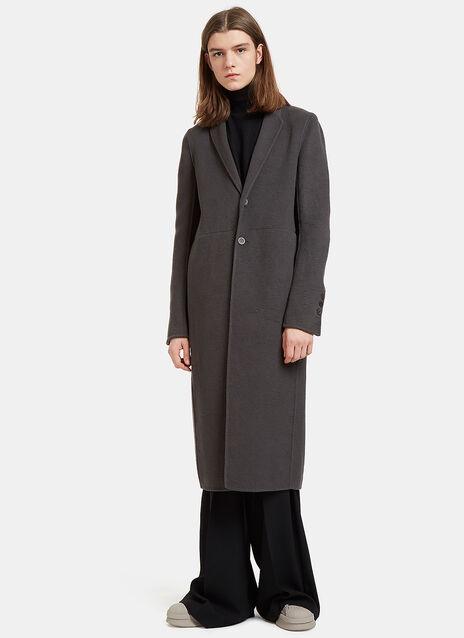 Moreau Single-Breasted Cashmere Coat