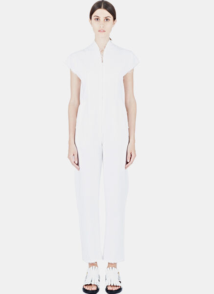 Image of Alexa Stark Denim Jumpsuit