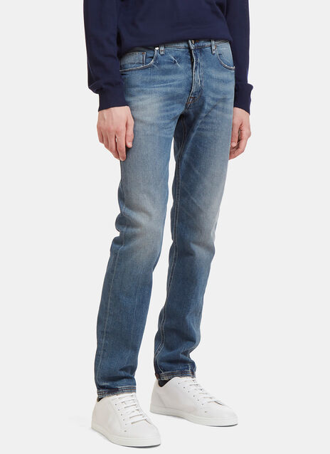 Slim Fit Stonewashed Jeans