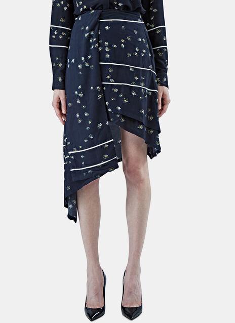 Lita Asymmetric Daisy Skirt