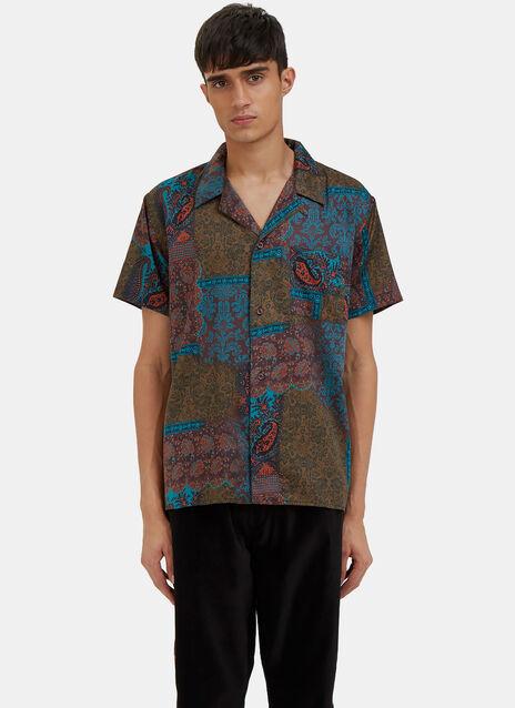 Paisley Short Sleeved Shirt