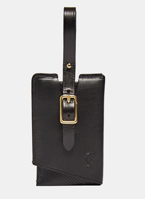 Icon Leather Luggage Tag