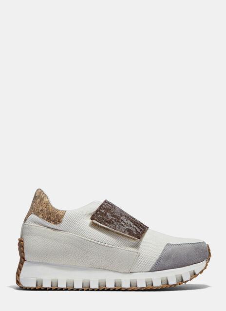 ODYSSEY II Bark Fiber Strap Sneakers