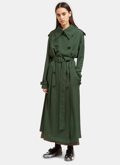 Acne Lucie Aceta Long Trench Coat