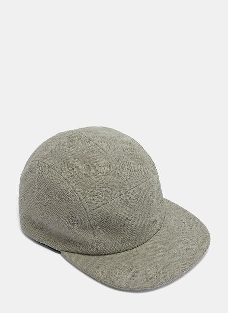 Loopback Fleeced Peak Cap