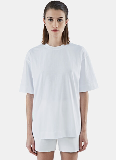 Boxy Fit Crew Neck T-Shirt