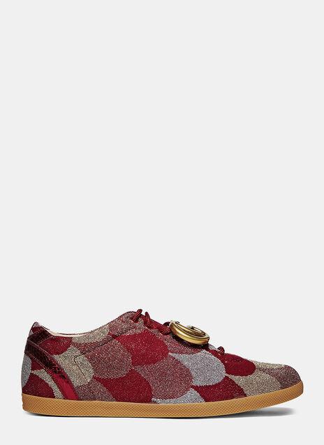 Lurex Jacquard GG Sneakers