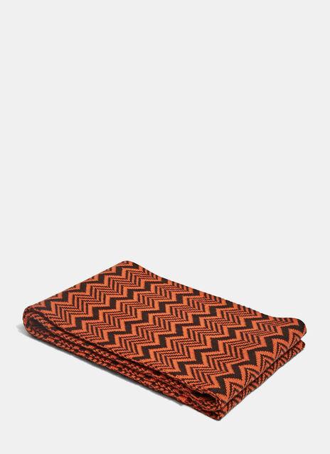 Depara Zigzag Knit Scarf