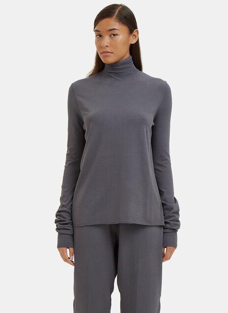 Fluid Roll Neck Sweater