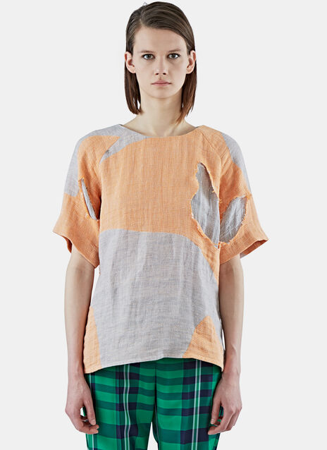 Boxy Patchwork T-Shirt