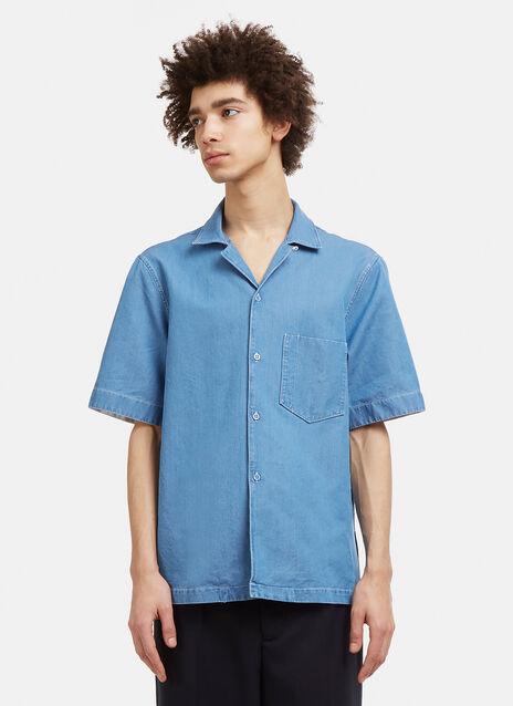 Elm Short Sleeved Denim Shirt