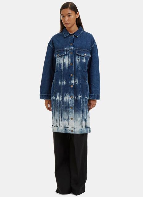 Oversized Dyed Denim Jacket