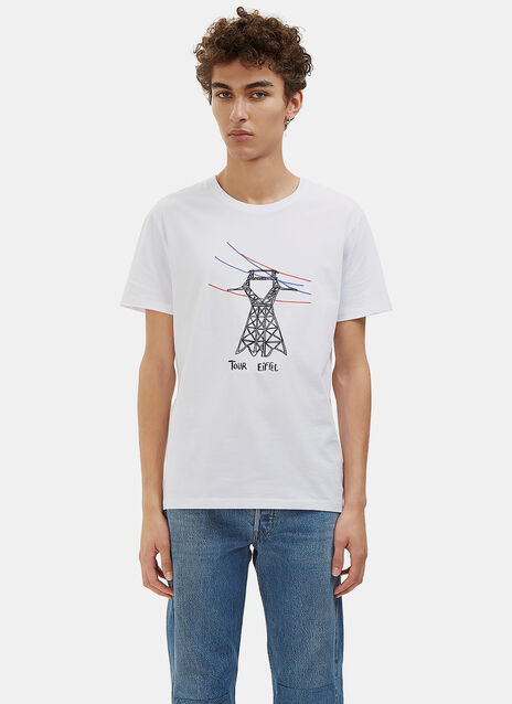 Tour Eiffel Crew Neck T-Shirt