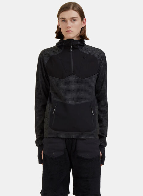 Mid Layer Hooded Top