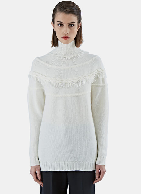 AGNONA TURTLE NECK KNITWEAR