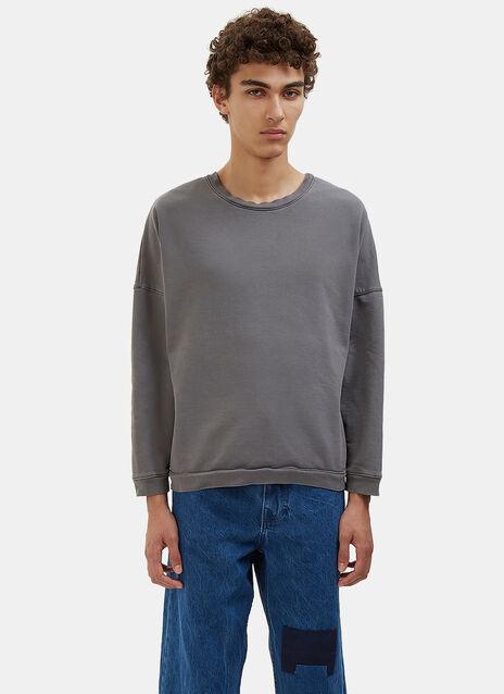 Crew Neck Jersey Sweater