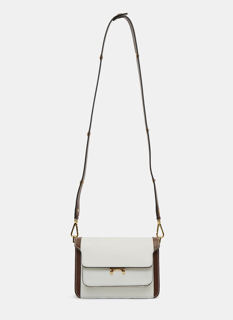 Bi-Colour Mini Trunk Shoulder Bag