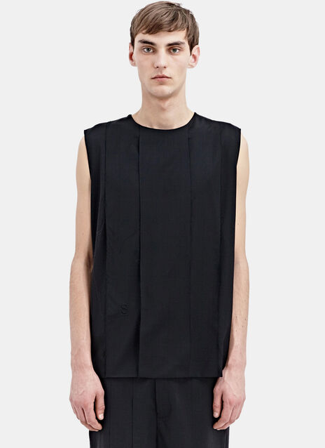 Thamanyah Ventilated Sleeveless Top