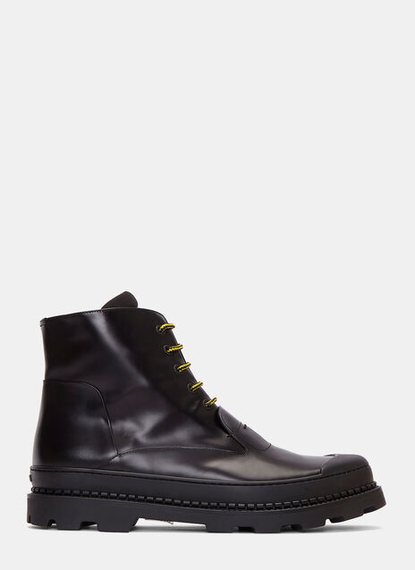Palladium Chunky Lace-Up Ankle Boots