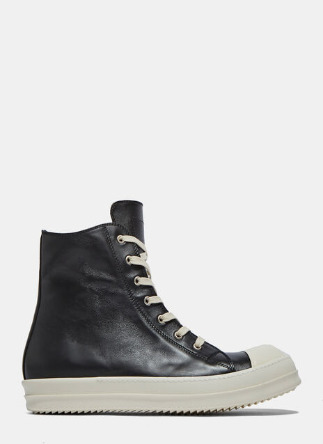 High Lace UpLeather Sneakers