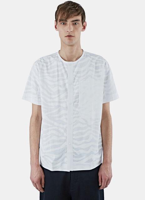 Short Sleeved Snap Front Shirt